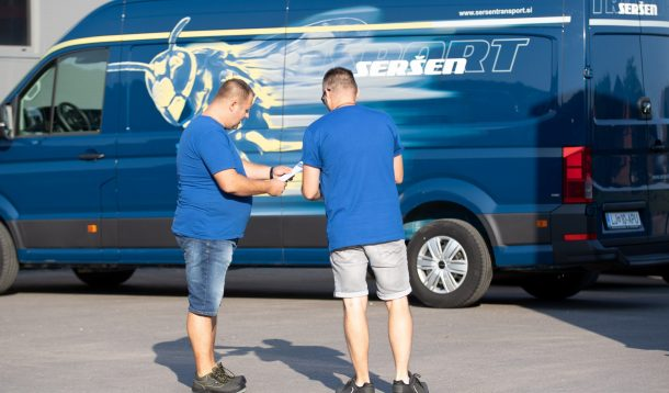 express deliveries Slovenia
